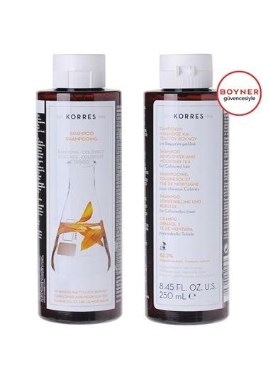 Korres Korres Sunflower Mountain Tea Şampuan 250 ml Renksiz